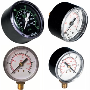 pressure and vacuum gauge - dry