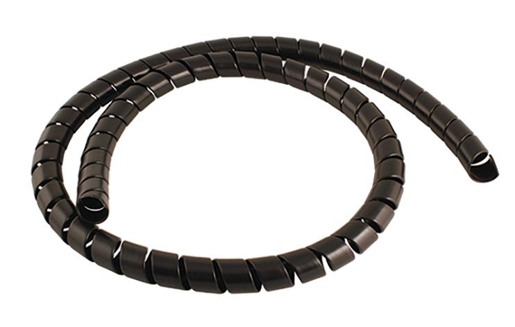 Stauff-Spiral Hose Protector Black
