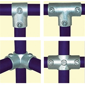 Malleable Iron fittings, Pipe and Hand Rail Ireland  - floMAX